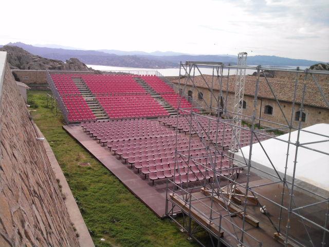 Fortezza I Colmi - La valigia dell'attore 2008 - Foto di G. Dedola