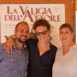 A. Bebbu, J. Trinca, G. Sini - La valigia dell'attore 2015 - Foto di Nanni Angeli