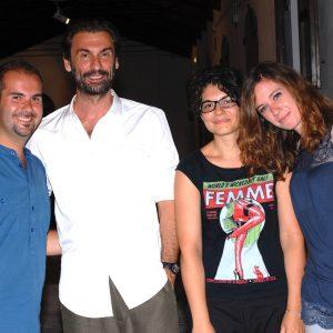 Andrea, Fabrizio, Alice, Valeria - La valigia dell'attore 2012 - Foto Fabio Presutti