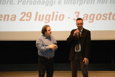 Enrico Magrelli, W. Jefferson Jr Edes - La valigia dell'attore 2014 - Foto di Fabio Presutti