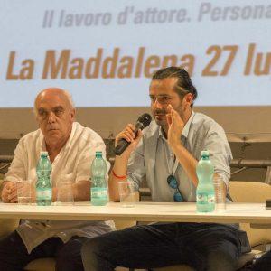 Bonifacio Angius, Mario Olivieri - La valigia dell'attore 2015 Foto di Fabio Presutti