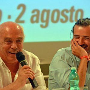 Bonifacio Angius, Mario Olivieri - La valigia dell'attore 2015 - Foto di Fabio Presutti