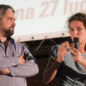 Jasmine Trinca, Boris Sollazzo - La Valigia dell'attore 2015 - Foto di Nanni Angeli