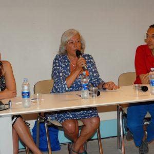 Camilla Zamboni, Paola Petri, Fabrizio Deriu - La valigia dell'attore 2012 - Foto di Fabio Presutti