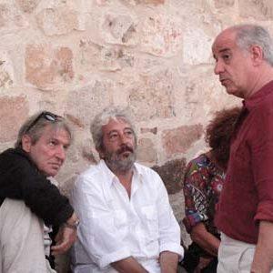 Carlo Cecchi, Gianfranco Cabiddu, Toni Servillo - La valigia dell'attore 2010 - Foto di Dario Maiore
