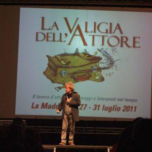 Paolo Rossi - La valigia dell'attore 2011 - Foto di Gianni Fano