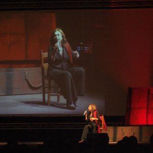 Anna Bonaiuto - La valigia dell'attore 2011 - Foto di Gianni Fano
