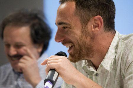 Elio Germano, Enrico Magrelli - La valigia dell'attore 2014 - Foto di Fabio Presutti