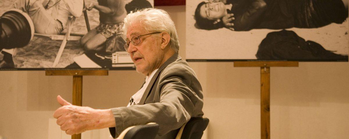 Ettore Scola - La valigia dell'attore 2012 - Foto di Nanni Angeli