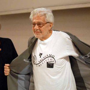 Ettore Scola, Felice Laudadio - La valigia dell'attore 2012 - Foto di Fabio Presutti