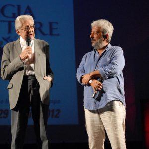 Ettore Scola, Gianfranco Cabiddu - La valigia dell'attore 2012 - Foto di Fabio Presutti