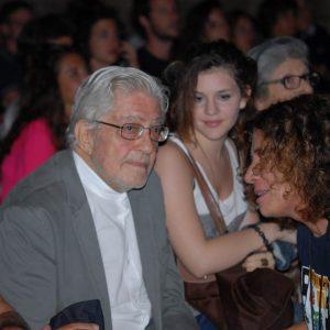 Ettore Scola, Giovanna Gravina - La valigia dell'attore 2012 - Foto di Fabio Presutti