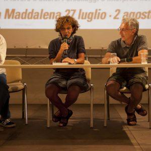 Fabrizio Deriu, Giovanna Gravina, Antonio Medici - La valigia dell'attore 2015 - Foto di Nanni Angeli