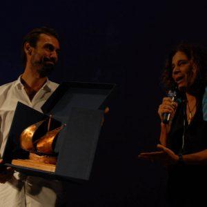 Premio Volonté - Fabrizio Gifuni. Giovanna Gravina - La valigia dell'attore 2012 - Foto Fabio Presutti
