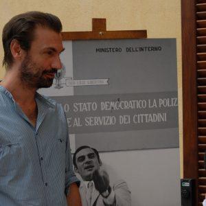 Fabrizio Gifuni - La valigia dell'attore 2012 - Foto di Fabio Presutti