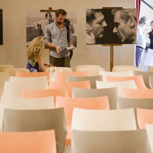 Fabrizio Gifuni, Sonia Bergamasco - La valigia dell'attore 2012 - Foto di Nanni Angeli