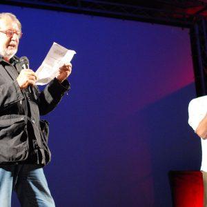 Premio Volonté - Fabrizio Gifuni, Felice Laudadio - La valigia dell'attore 2012 -Foto Fabio Presutti