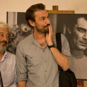Fabrizio Gifuni, Gianfranco Cabiddu - La valigia dell'attore 2012 - Foto di Nanni Angeli