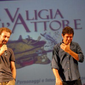 Fabrizio Gifuni, Pierfrancesco Favino - La valigia dell'attore 2012 - Foto di Fabio Presutti