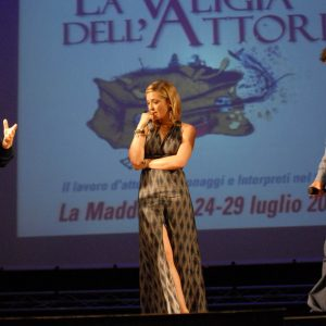 Ferruccio Marotti, Carolina Crescentini, Pierfrancesco Favino - La valigia dell'attore 2012 - Foto di Fabio Presutti