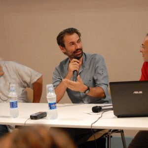 Ferruccio Marotti, Fabrizio Gifuni, Fabrizio Deriu - La valigia dell'attore 2012 - Foto di Fabio Presutti