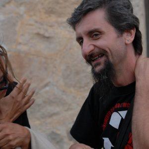 Anna Bonaiuto, Ascanio Celestini - La valigia dell'attore 2011 - Foto di Fabio Presutti