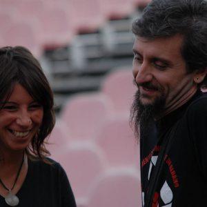 Monica Bulciolu, Ascanio Celestini - La valigia dell'attore 2011 - Foto di F. Presutti