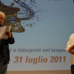 Roberto Andò, Gianfranco Cabiddu - La valigia dell'attore 2011 - Foto di Fabio Presutti