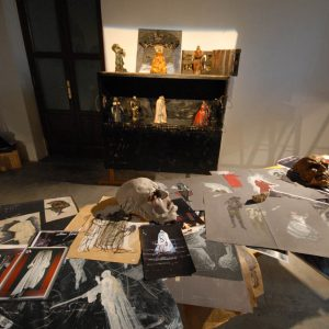 Fortezza I Colmi - Mostra di Sergio Tramonti - La valigia dell'attore 2011 - Foto di Fabio Presutti 2
