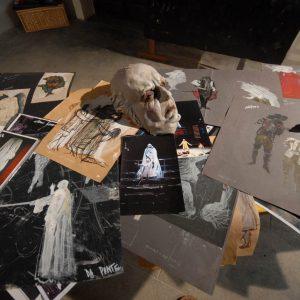 Fortezza I Colmi - Mostra di Sergio Tramonti - La valigia dell'attore 2011 - Foto di Fabio Presutti 3