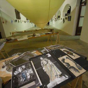 Fortezza I Colmi - Mostra di Sergio Tramonti - La valigia dell'attore 2011 - Foto di Fabio Presutti