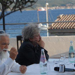 Conferenza stampa - Ferruccio Marotti, Paolo Rossi - La valigia dell'attore 2011 - Foto di Fabio Presutti