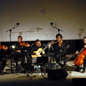 The fool on the hill - Quartetto Savinio , Giampaolo Bandini - La valigia dell'attore 2012 - Foto Fabio Presutti