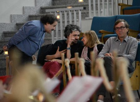 E. Magrelli, B. Sollazzo, Chicca Ungaro - La valigia dell'attore 2014 - Foto di Fabio Presutti