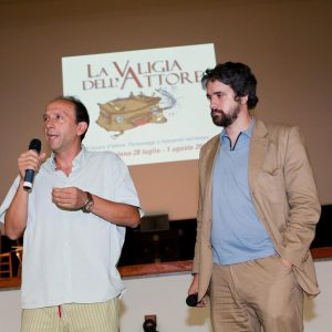 Gianluca Greco, Boris Sollazzo - La valigia dell'attore 2010 - Foto di Eugenio Schirru