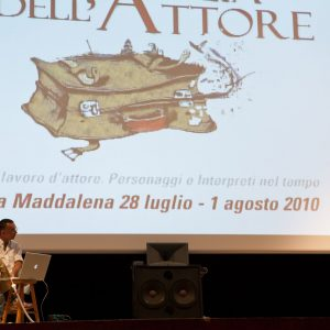 M. Riondino, F. Deriu, B. Sollazzo - La valigia dell'attore 2010 - Foto di Eugenio Schirru