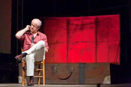 Toni Servillo - La valigia dell'attore 2010 - Foto di Eugenio Schirru