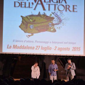 Francesco Munzi, Boris Sollazzo, Enrico Magrelli - La Valigia dell'attore 2015 - Foto di Nevio Ragni