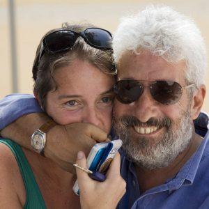 Gianfranco Cabiddu, Liliana Ledda - La valigia dell'attore 2012 - Foto di Nanni Angeli