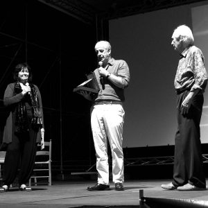 Francesca Solinas, Toni Servillo, Giorgio Arlorio - La valigia dell'attore 2010 - Foto di Tatiano Maiore