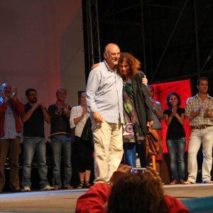 Fabio Canu, Giovanna Gravina - La valigia dell'attore 2010 - Foto D. Pirini