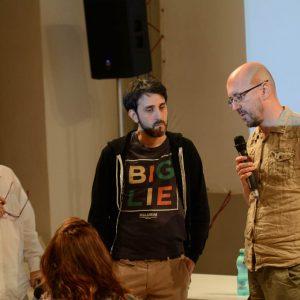 Mirko Capozzoli, Alejandro de La Fuente - La valigia dell'attore 2014 - Foto di Fabio Presutti