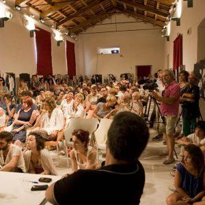 Ex Ilva - Incontro con Carolina Crescentini e Pierfrancesco Favino - La valigia dell'attore 2012 - Foto di Nanni Angeli