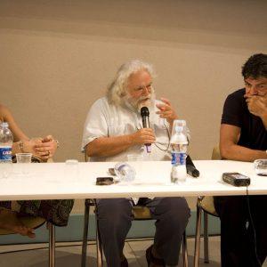 Carolina Crescentini, Ferruccio Marotti, Pierfrancesco Favino - La valigia dell'attore 2012 - Foto di Nanni Angeli