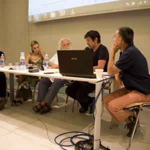 Carolina Crescentini, Ferruccio Marotti, Pierfrancesco Favino, Fabrizio Deriu - La valigia dell'attore 2012 - Foto di Nanni Angeli