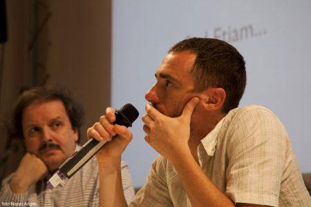 Enrico Magrelli, Elio Germano - La valigia dell'attore 2014 - Foto di Nanni Angeli