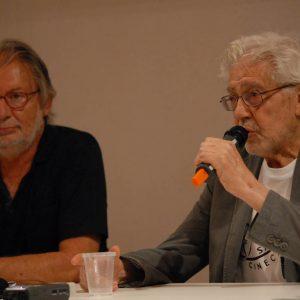 Felice Laudadio, Ettore Scola - La valigia dell'attore 2012 - Foto di Fabio Presutti