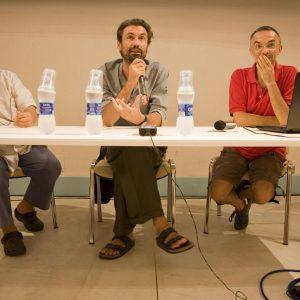 Ferruccio Marotti, Fabrizio Gifuni, Fabrizio Deriu - La valigia dell'attore 2012 - Foto Nanni Angeli 2