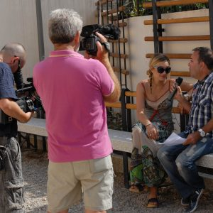 Intervista Corrente TV a Carolina Crescentini - La valigia dell'attore 2012- Foto di Fabio Presutti
