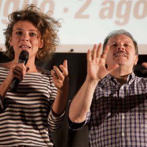 Jasmine Trinca, Enrico Magrelli - La Valigia dell'attore 2015 - Foto di Nanni Angeli